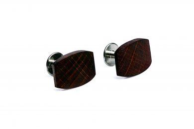 BeWooden - Drewniane spinki do mankietów Punm dla mężczyzny