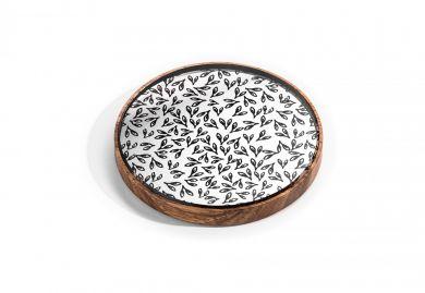 BeWooden - Drewniane lusterko Caleo dla eleganckiej kobiety