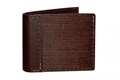 BeWooden - Elegancki drewniany portfel Brunn Virilia