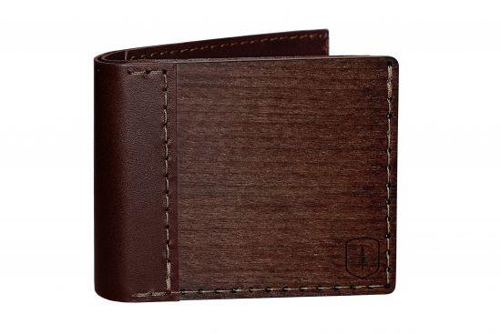 Elegancki drewniany portfel Brunn Virilia