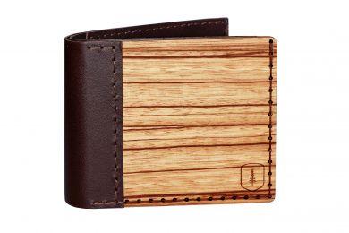 BeWooden - Elegancki drewniany portfel Lineari