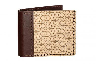 BeWooden - Drewniany portfel Virie Virilia dla mążczyzn
