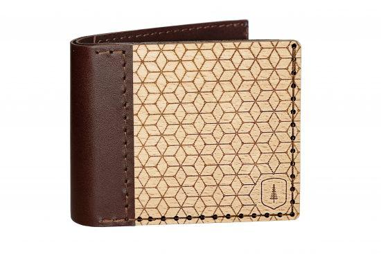 Drewniany portfel Virie Virilia dla mążczyzn