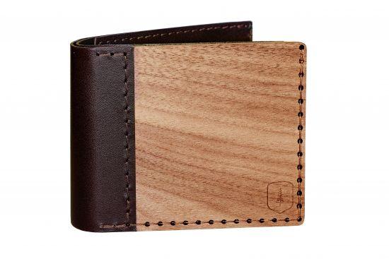 BeWooden - Drewniany portfel Virilia to doskonały pomysł na prezent!