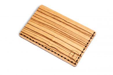BeWooden - Praktyczny i elegancki drewniany wizytownik Linea Note