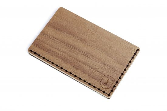 BeWooden - Elegancki drewniany wizytownik Nox Note