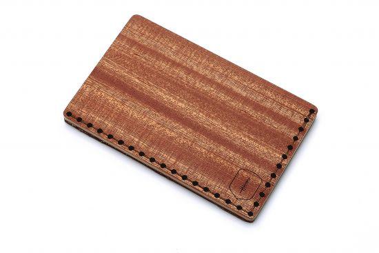BeWooden - Oryginalny drewniany wizytownik Red Note