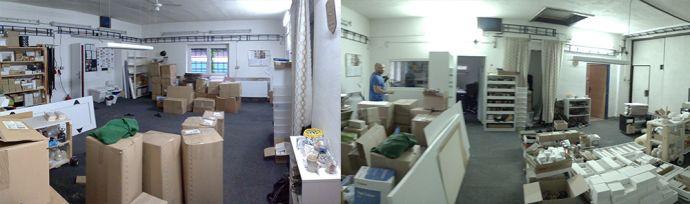 Zdjęcia z przebudowy naszego warsztatu w Rychalticach