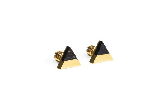 BeWooden - 0 Vespa earrings triangle