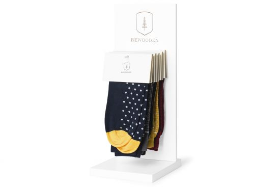 Socks Stand – white
