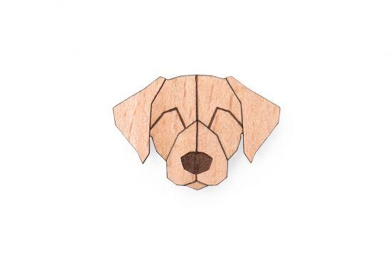 Labrador Brooch
