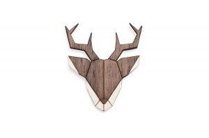 Deer Brooch