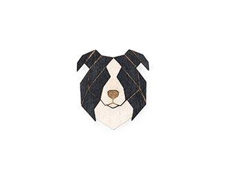 Broszki w kształcie psa