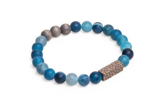 BeWooden - 0 Aqua viame bracelet