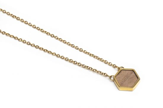 BeWooden - Apis Necklace Hexagon