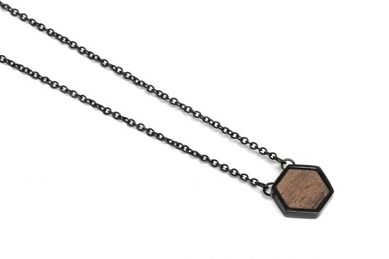 Apis Nox Necklace Hexagon