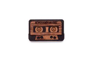 Cassette Brooch