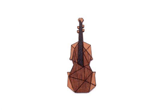 BeWooden - Violin brooch