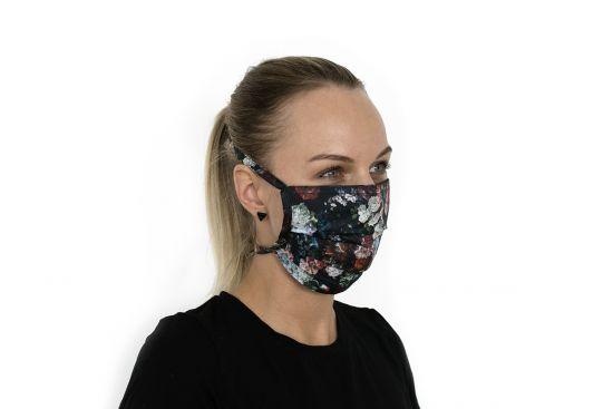 Stylowa bawełniana maseczka Rose Mask BeWooden