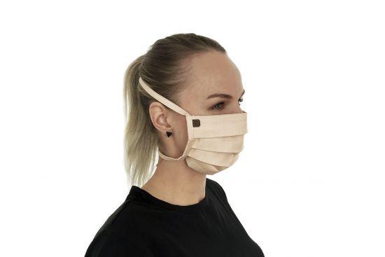 Stylowa bawełniana maseczka Creame Mask BeWooden
