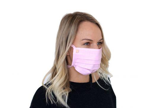 Stylowa bawełniana maseczka Rea Mask BeWooden