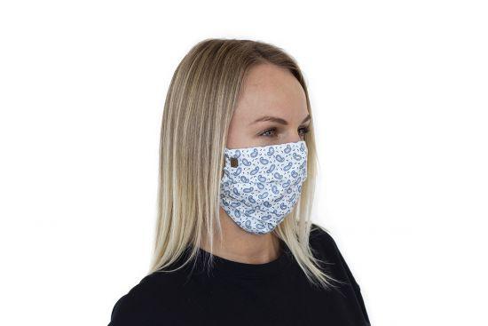 Stylowa bawełniana maseczka Paisley Mask BeWooden