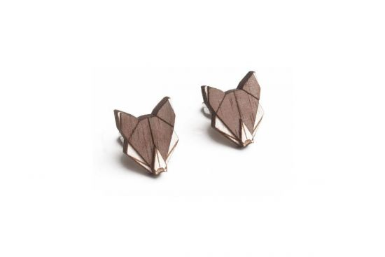 Wolf Earrings