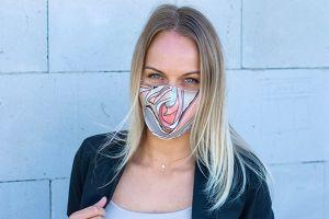 Pastel Rubber Mask