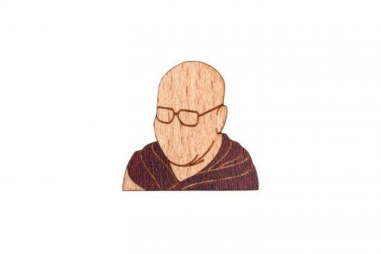 Dalajlama Brooch