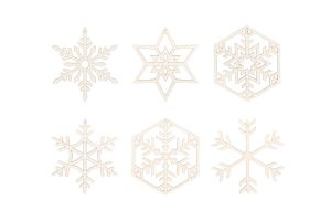 Snow Decoration 6x