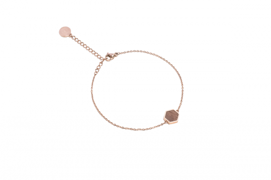 Lumen Hexagon Bracelet