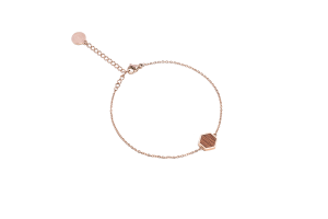 Rea Hexagon Bracelet